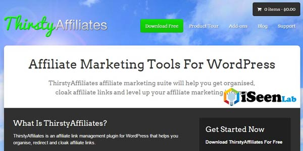 Thirsty Affiliate WordPress Plugin
