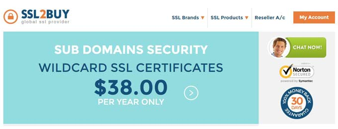 ssl2buy cheaper wildcard ssl certificate provider